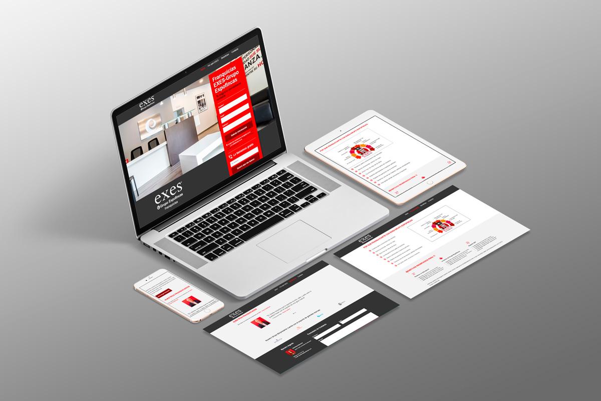 diseño web franquicias